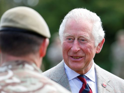 The Prince of Wales has praised the Royal British Legion in a video message to mark the charity's centenary (Peter Cziborra/PA)