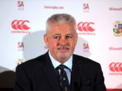 Warren Gatland is confident he has a strong squad (Adam Davy/PA)