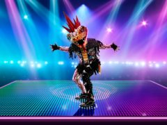 Viper, one of the characters revealed for the upcoming series The Masked Dancer (ITV)