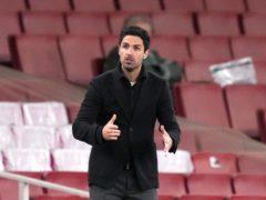 Mikel Arteta feels he is the right man to return Arsenal to glory (John Walton/PA)