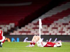 Arsenal crashed out of the Europa League semi-finals to Villarreal (John Walton/PA)