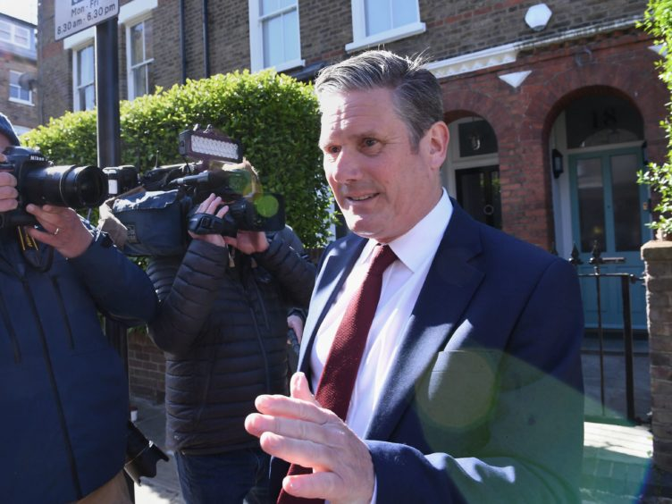 Labour leader Sir Keir Starmer has appointed a new strategist in a bid to reverse Labour's election woes (Stefan Rousseau/PA)
