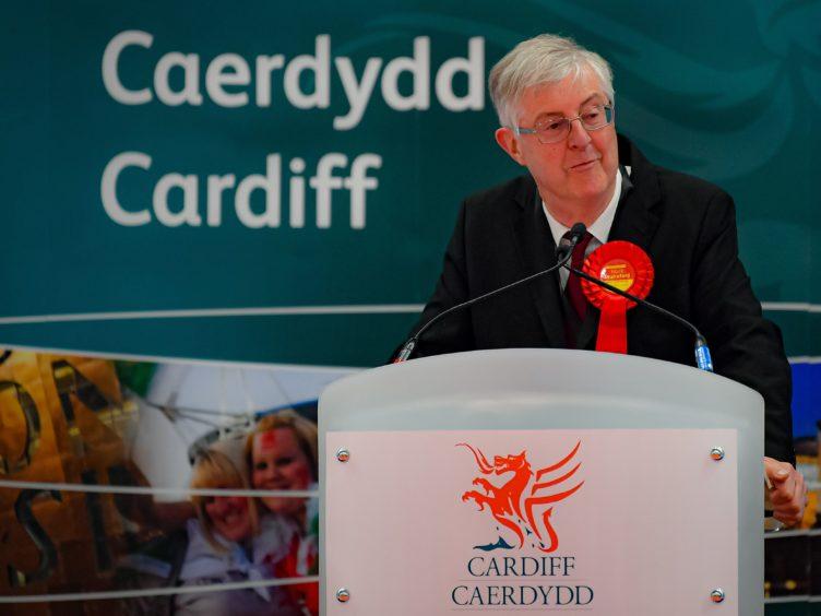 Welsh First Minister Mark Drakeford (Ben Birchall/PA)