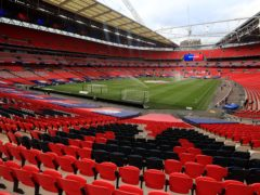 Hopes of the Champions League final being staged at Wembley appear to have receded (Mike Egerton/PA)
