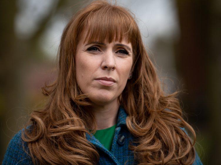 Deputy Labour leader Angela Rayner (Jacob King/PA)