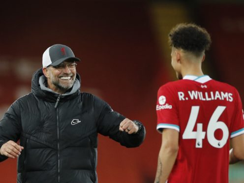 Liverpool manager Jurgen Klopp has called for improvements in their bid for a top-four finish (Phil Noble/PA)