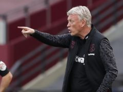David Moyes is close to signing a new deal as West Ham boss (Andrew Couldridge/PA)