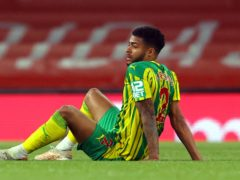 Darnell Furlong reacts to relegation (Richard Heathcote/PA)
