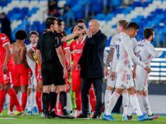Real Madrid suffered a title blow (Manu Fernandez/AP)