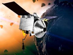 Osiris Rex (Conceptual Image Lab/Goddard Space Flight Center/NASA via AP)