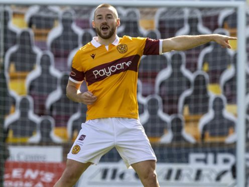 Motherwell's Allan Campbell has an ankle injury (Jeff Holmes/PA)