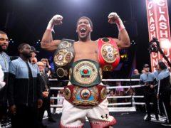 Anthony Joshua is the WBA, IBF and WBO heavyweight champion (Nick Potts/PA)
