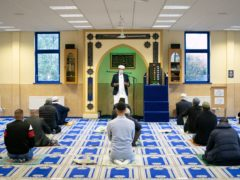 Imam Qari, chair of the Mosques and Imams National Advisory Board, addresses the end of Ramadan ahead of the start of Eid al-Fitr (Danny Lawson/PA)