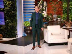 Ellen DeGeneres on the set of her show (Michael Rozman/Warner Bros/PA)