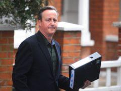 David Cameron (Victoria Jones/PA)