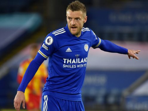 Jamie Vardy is aiming to add the FA Cup to his Premier League title (Rui Vieira/PA)