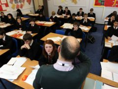 Children missed one additional week of schooling between September and December on average compared to previous years (David Davies/PA)