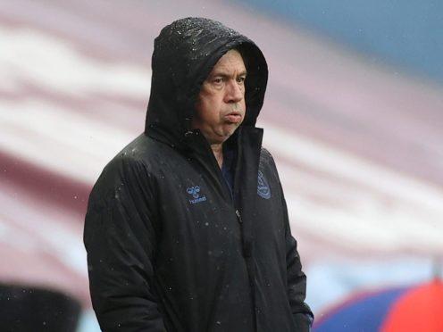 Carlo Ancelotti's Everton climbed to eighth in the table (Carl Recine/PA)