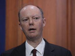 Chief medical officer Professor Chris Whitty (MAtt Dunham/PA)