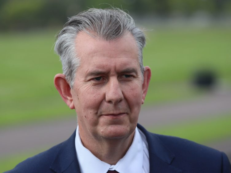 Edwin Poots revealed the cost of providing checks at Northern Ireland's ports has already exceeded £24 million (Brian Lawless/PA)