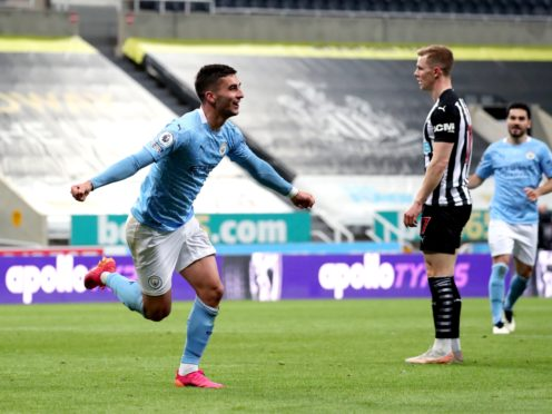 Ferran Torres netted a hat-trick at Newcastle (Scott Heppell/PA)
