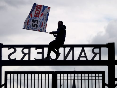 Rangers' title celebrations are under investigation (Andrew Milligan/PA)