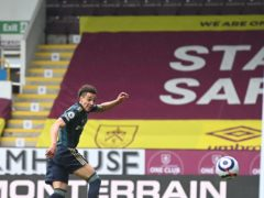 Rodrigo's late brace wrapped up a convincing win for Leeds at Burnley (Gareth Copley/PA)