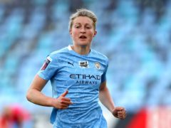 Ellen White has scored 24 goals in 55 appearances for Manchester City (Martin Rickett/PA).