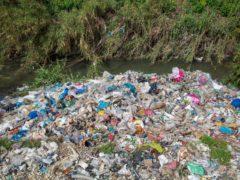 Plastic waste dumped and burned in Adana province in Turkey (Caner Ozkan/Greenpeace/PA)