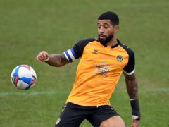 Newport captain Joss Labadie should make a starting return in the League Two play-off final against Morecambe (Simon Galloway/PA)
