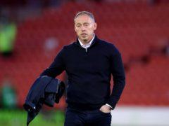 Steve Cooper's Swansea edged a tight match 1-0 (Nick Potts/PA)