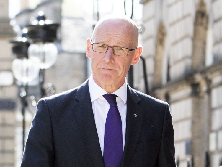 Covid Recovery Secretary John Swinney said the Scottish Government will keep the idea of extending an eviction ban 'under close consideration' (Jane Barlow/PA)