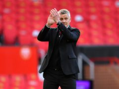 Ole Gunnar Solskjaer believes Manchester United are on the right trajectory (Paul Ellis/PA)