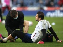 Fabianski suffered a knee injury in the warm-up at West Brom on Wednesday (Molly Darlington/PA)