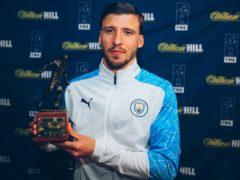 Ruben Dias has won the FWA Footballer of the Year award (FWA)