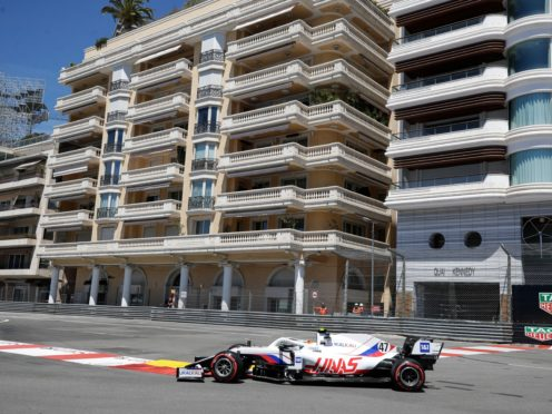 Mick Schumacher crashed out of final practice in Monaco and will miss qualifying (Luca Bruno/AP)