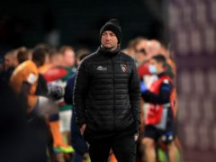 Leicester Tigers head coach Steve Borthwick watched his team go narrowly close to European Challenge Cup Final success (Mike Egerton/PA)