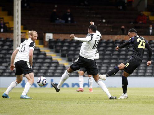 Joe Willock made it seven goals in seven Premier League games for Newcastle (Matthew Childs/PA)