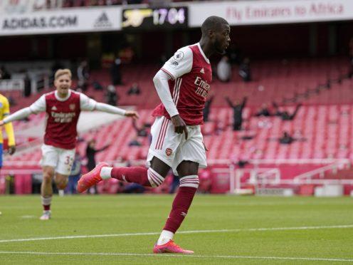 Nicolas Pepe has scored 16 goals this season (Alastair Grant/PA)