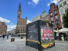 Manchester United fans were attacked in Gdansk on Tuesday night (Simon Peach/PA)