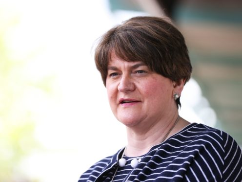 First Minister Arlene Foster (Liam McBurney/PA)