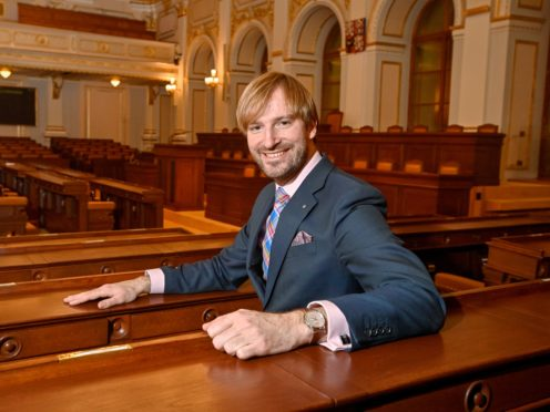Member of Czech Parliament Adam Vojtech is set to be reappointed as health minister (Vit Simanek/CTK via AP)