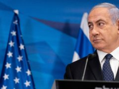Benjamin Netanyahu could be facing the end of his tenure as Israel's prime minister (Alex Brandon/AP)