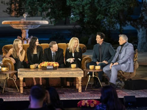 The Friends reunion special (Terence Patrick/HBO Max/PA)