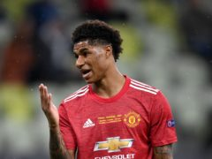 Marcus Rashford says he has been sent around 70 racial slurs in the wake of Manchester United's Europa League final loss to Villarreal (Rafal Oleksiewicz/PA)