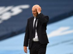Zinedine Zidane claims he left Real Madrid as he felt the club no longer had faith in him (Oli Scarf/PA)