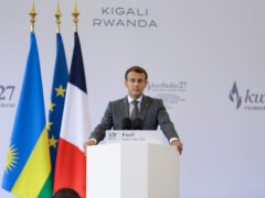 French president Emmanuel Macron admitted France's role in the Rwanda genocide of 1994 (Muhizi Olivier/AP)
