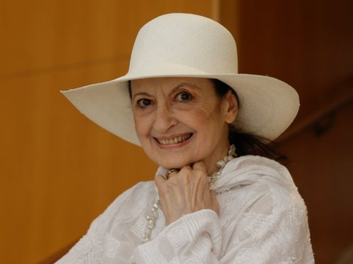Carla Fracci was a former prima ballerina at La Scala opera house in Milan (Luca Bruno/AP)