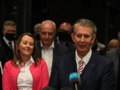 Edwin Poots was ratified leader of the DUP (Brian Lawless/PA)