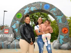 """Handout photo dated 28/05/21 of Kellie Ofori-Awuah and her family at Legoland Windsor. She and other NHS key workers were let loose on Legoland's latest attraction on Friday as a """"small thank you for their selfless efforts"""" over the past year. Issue date: Saturday May 29, 2021."""